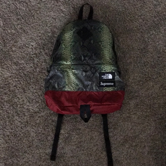 cd8f9acf2 Supreme Bags | The North Face Snakeskin Day Pack Ss18 | Poshmark